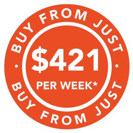 Buy from $421 per week